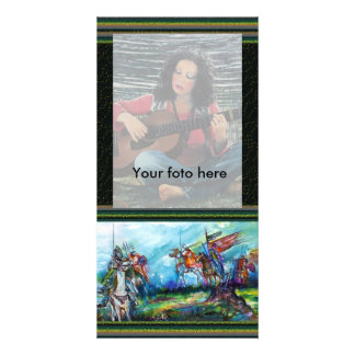 RIDERS IN THE STORM - detail ,Photo Card Photo Card Template