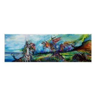 RIDERS IN THE STORM PRINT