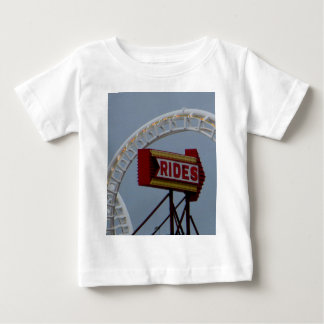 Rides and Roller Coaster Baby T-Shirt