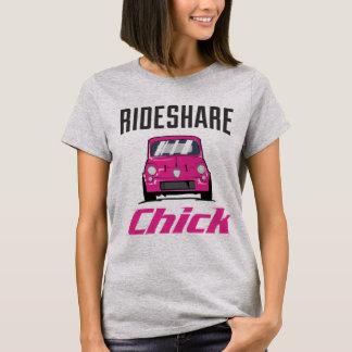 """""""Rideshare Chick"""" T-Shirt"""