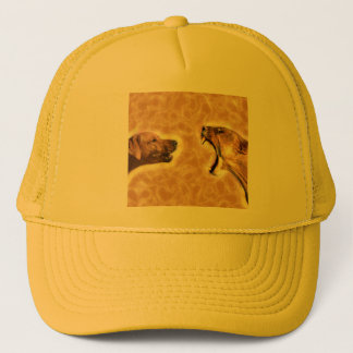 Ridgeback and Lioness Trucker Hat