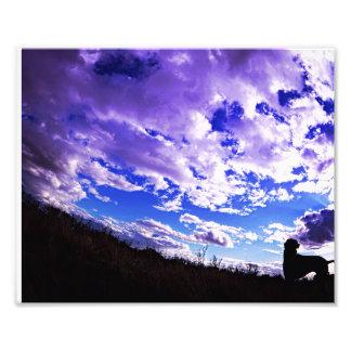 Ridgeback Silhouette. Photo Print