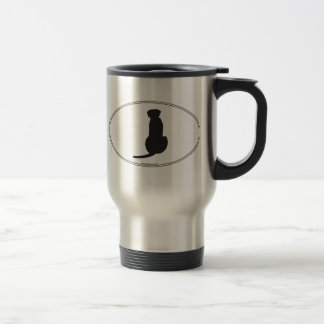 Ridgeback Silhouette Travel Mug