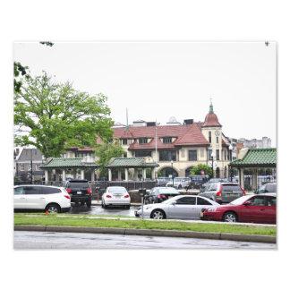 Ridgewood Train Station Photo Art