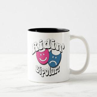 Ridin' Bipolar Two-Tone Coffee Mug