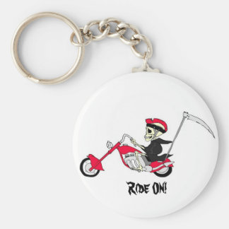 Ridin Reaper Style! Collector Keychain