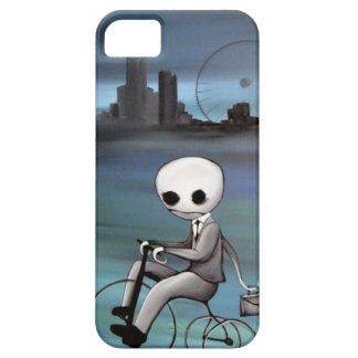 riding a trike zombie guy barely there iPhone 5 case
