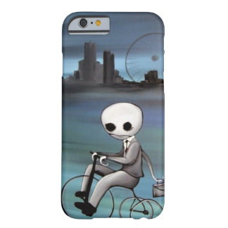 riding a trike zombie guy barely there iPhone 6 case