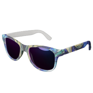 Riding Colorful Abstract Painting Sunglasses