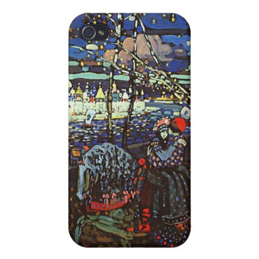 Riding Couple by Wassily Kandinsky iPhone 4/4S Covers