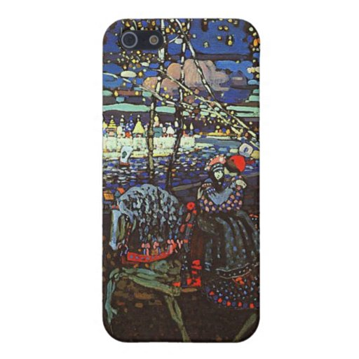 Riding Couple by Wassily Kandinsky Covers For iPhone 5