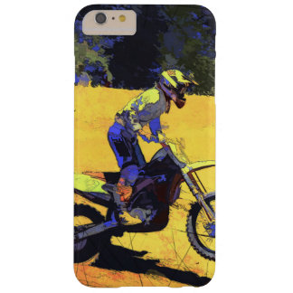 Riding Hard! - Motocross Racer Barely There iPhone 6 Plus Case