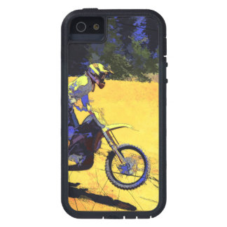 Riding Hard! - Motocross Racer iPhone 5 Case