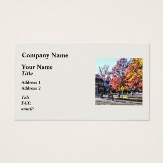 Riding Home From School Business Card