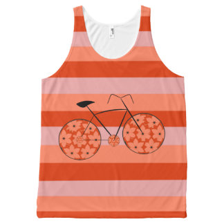 Riding in stripes All-Over print tank top