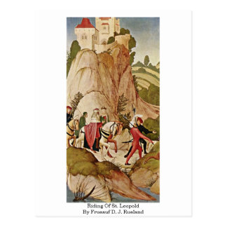 Riding Of St. Leopold By Frueauf D. J. Rueland Postcards