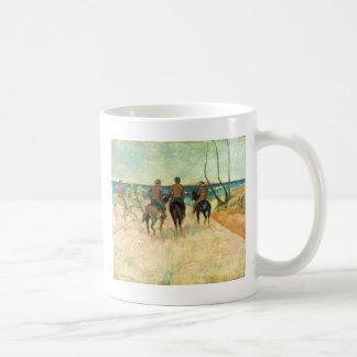 Riding On The Beach By Gauguin Paul (Best Quality) Coffee Mug