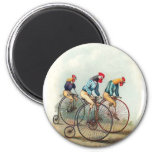 Riding Roosters Magnets