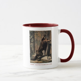 RidingHood The Wolf At Grandma's Door Mug