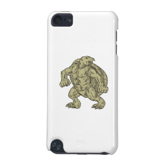 Ridley Sea Turtle Martial Arts Stance Drawing iPod Touch (5th Generation) Covers