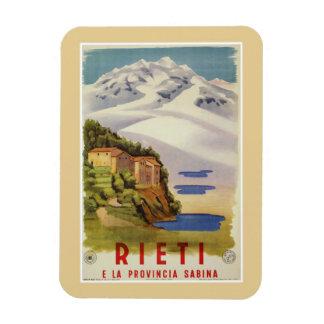 Rieti Sabina vintage Italian travel poster Magnet