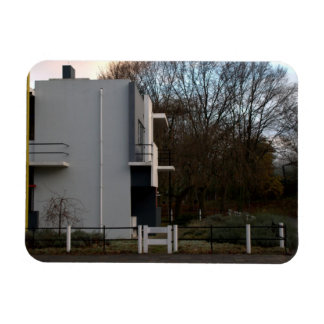 Rietveld Schröder House Utrecht Rectangle Magnets