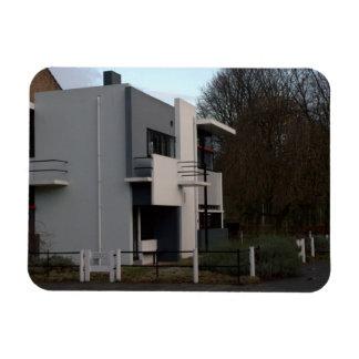 Rietveld Schröder House Utrecht Rectangular Magnet