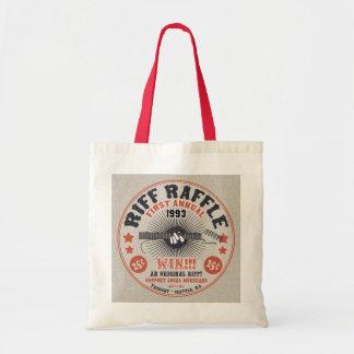 Riff Raffle Budget Tote Bag