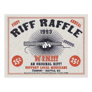 Riff Raffle Postcard