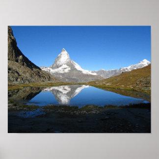 Riffelsee Matterhorn Poster