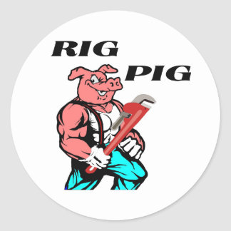 Rig Pig Stickers