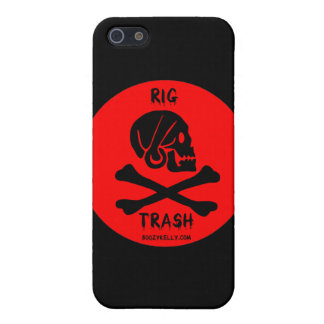 Rig Trash,Skull & Crossbones,iPhone Case,Oil iPhone 5/5S Cover