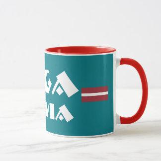 Riga Latvia Modern Design Mug