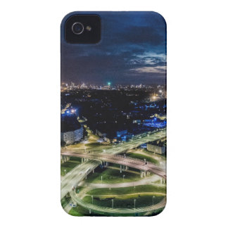Riga Night Skyline iPhone 4 Covers