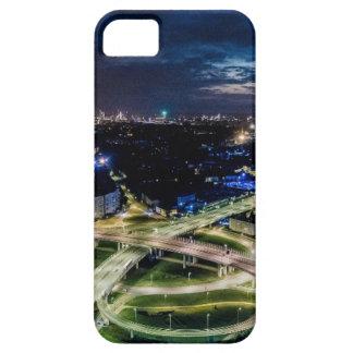 Riga Night Skyline iPhone 5 Cases