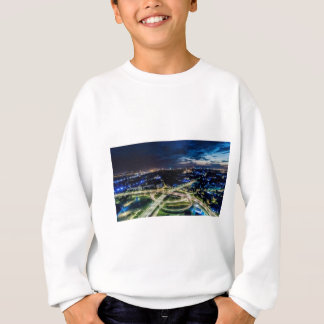 Riga Night Skyline Sweatshirt