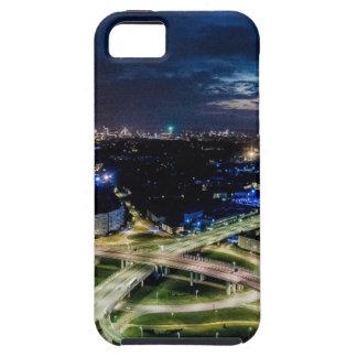 Riga Night Skyline Tough iPhone 5 Case