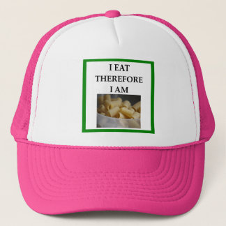 rigatoni trucker hat