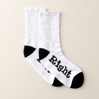 Right and Left Socks 1