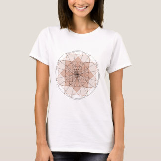 right-angled golden delicious flower T-Shirt