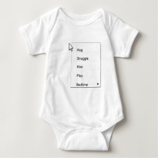 Right click baby baby bodysuit
