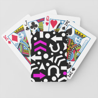 Right direction - magenta poker deck