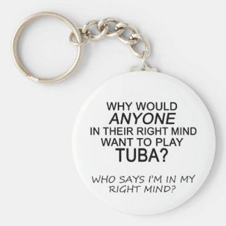 Right Mind Tuba Key Ring