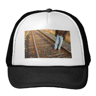 right on track mesh hat