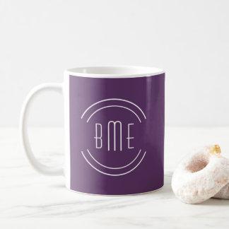 Right Or left Handed Monogram Mugs