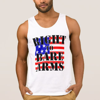 RIGHT TO BARE ARMS SINGLET