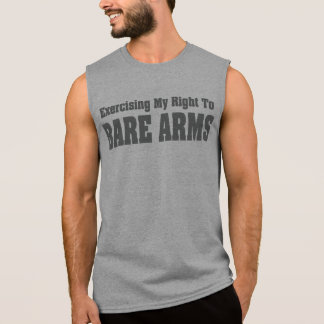 Right To Bare Arms Tank Top T-shirt