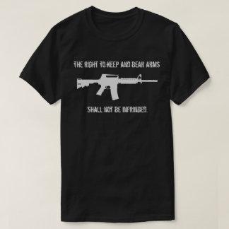 Right To Bear Arms Second Amendment Gun Shirt