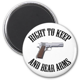 Right To Keep And Bear Arms 1911 Magnet