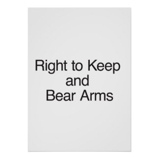 Right to Keep and Bear Arms Print